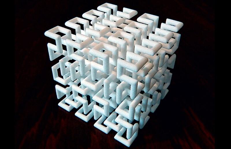 Генри Сегерман: материальная гармония математики
