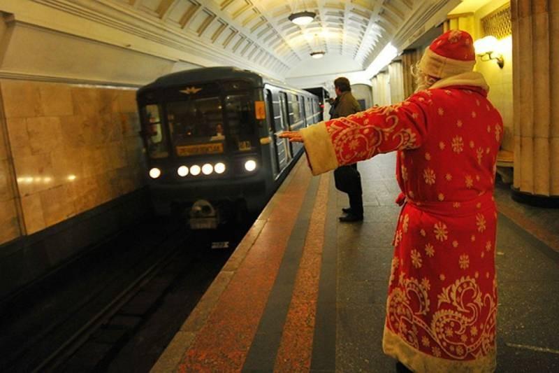 График работы метро в Новый год 2021 в Санкт-Петербурге и Москве