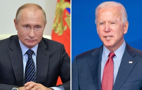 Путин и Байден провели телефонный разговор