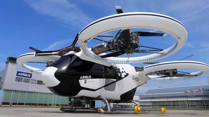 К 2025 году в России будет запущен проект летающих такси