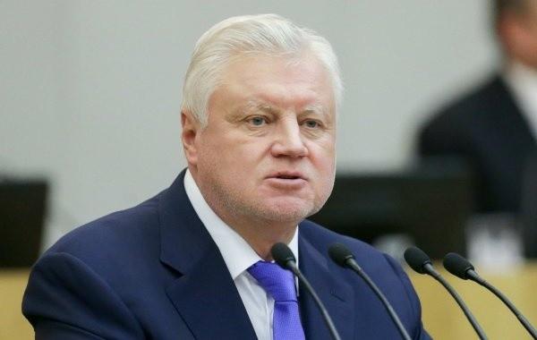 Миронов потребовал немедленно вернуть индексацию пенсий работающим пенсионерам