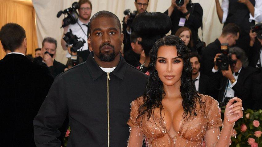 Ким Кардашьян официально подала на развод с рэпером Канье Уэстом