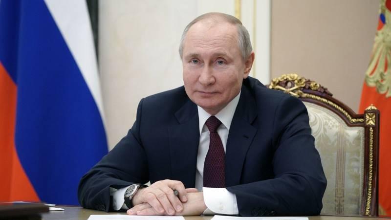 Владимир Путин ответил на обвинения Джозефа Байдена в свой адрес