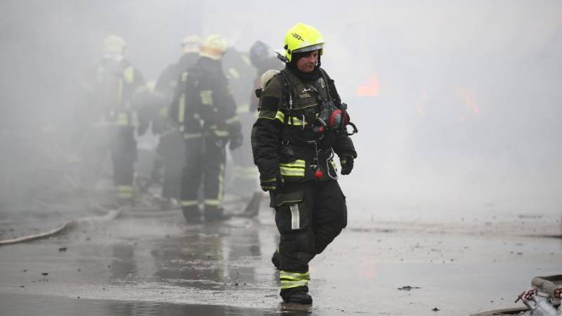 Измайловский Кремль выгорел в результате пожара 20 марта 2021 года