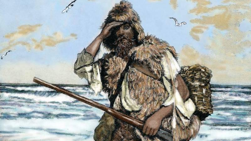 Как Джон Фосс выжил с помощью весла и шкуры тюленя, прожив шесть лет на камне посреди океана