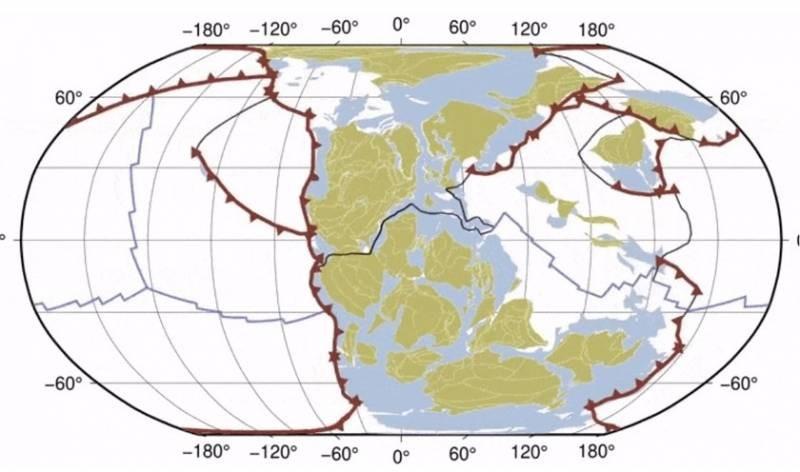 Геофизики смонтировали 40-секундное видео, в котором показали миллиард лет эволюции Земли