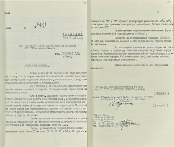 Какие документы об аварии на ЧАЭС решила рассекретить СБУ