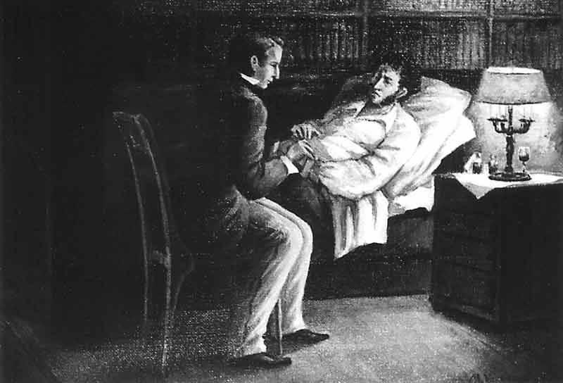 Личный доктор Пушкина рассказал о его последних часах жизни