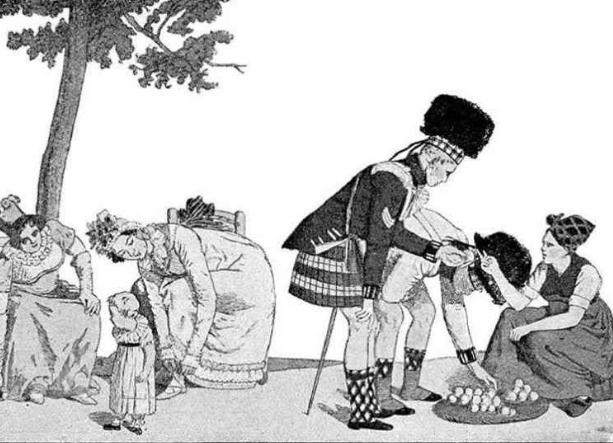 Зачем шотландские мужики надевают юбки?