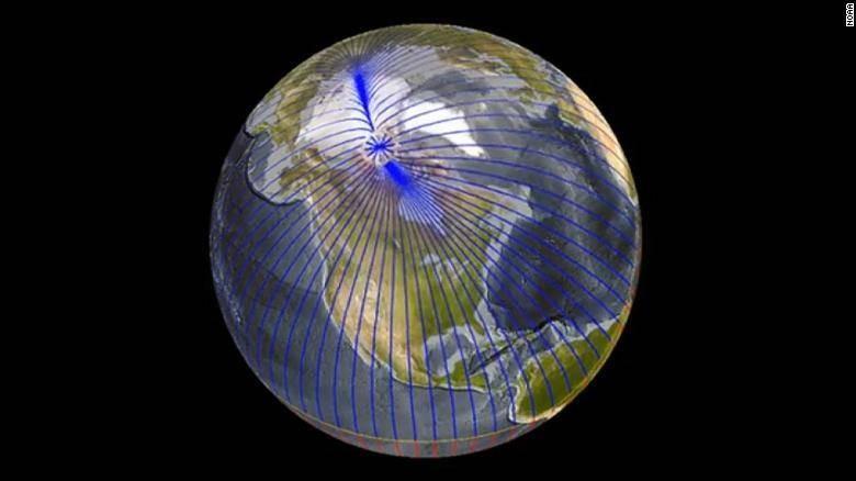 Что интересно знать о скачках магнитных полюсов Земли