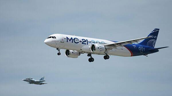 Что известно о новом российском самолете МС-21