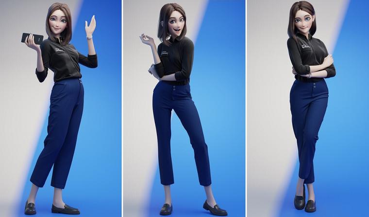 Новый виртуальный ассистент Сэм от Samsung стал звездной интернета