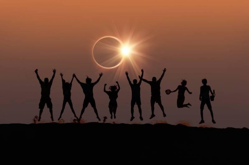 Во сколько будет солнечное затмение 10 июня 2021 года
