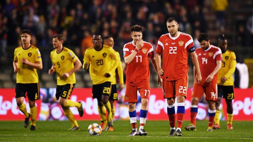 Сборная России сыграет против Бельгии в Санкт-Петербурге 12 июня 2021 года