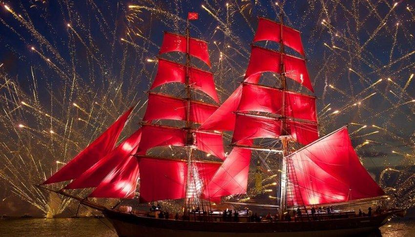Где и как посмотреть без билета шоу выпускников «Алые паруса» в Питере в 2021 году