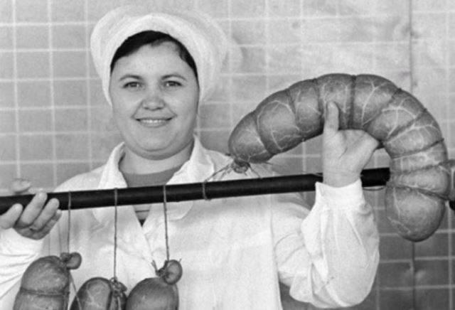 Какая колбаса была в Советском Союзе