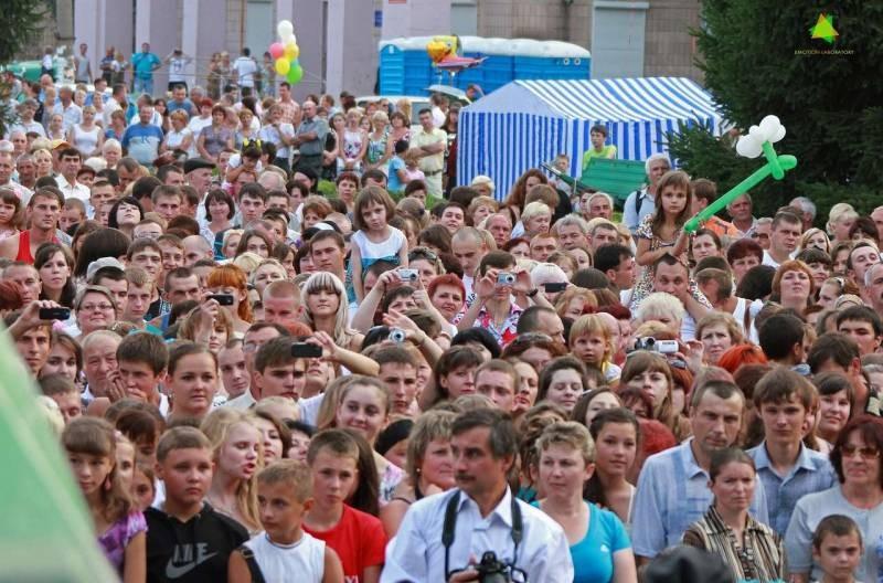 На дне города в Новомиргороде выступили «гитлеровцы»