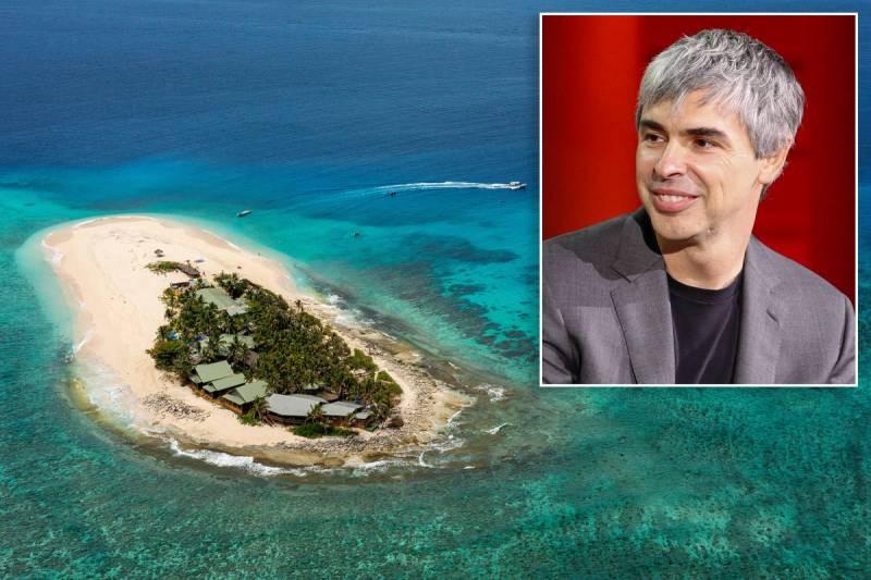 Глава Google Ларри Пейдж скрылся на Фиджи на время эпидемии коронавируса