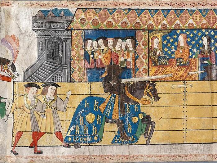 Как выглядела Олимпиада в средние века