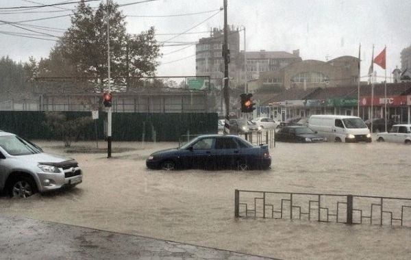 Анапу в очередной раз затопило