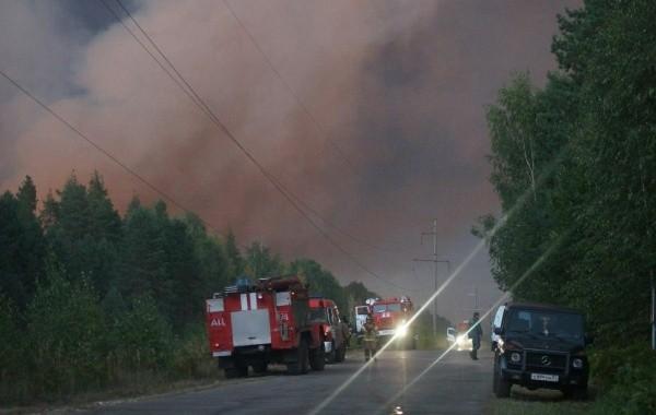 Нижегородские пожарные едва не погибли в огненном кольце в Мордовском заповеднике