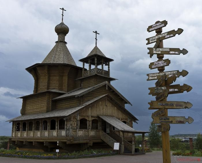 Уходящая красота: Деревянное зодчество русского Севера
