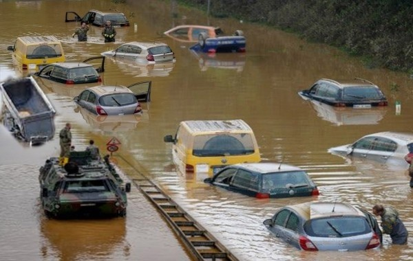 Ливни спровоцировали сильное наводнение в Испании