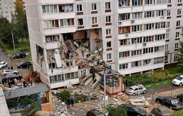 В Ногинске произошел взрыв в многоквартирном жилом доме