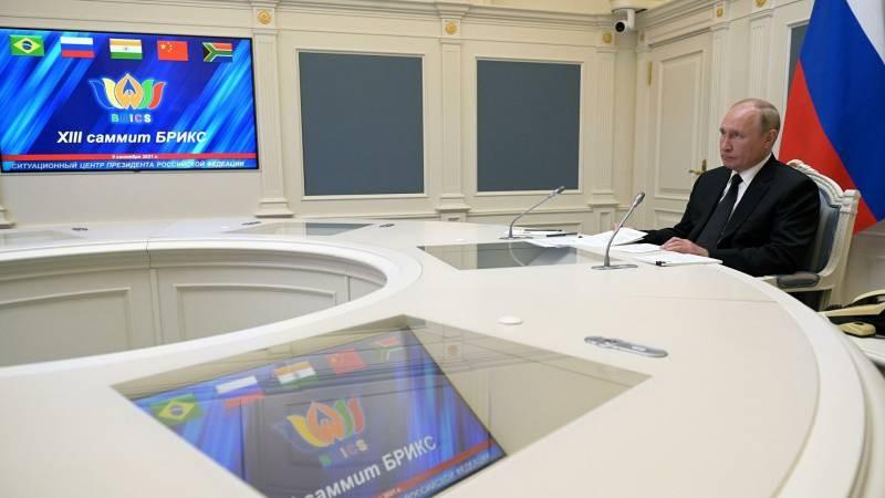 Путин в рамках саммита БРИКС-2021 обвинил США в осложнениях в Афганистане