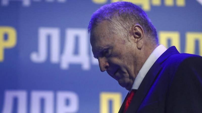 На дебатах Жириновский потерял штаны из-за врагов, — ЛДПР