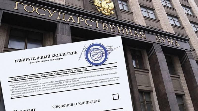ЦИК огласил дату оглашения окончательных результатов голосования в ГД в 2021 году