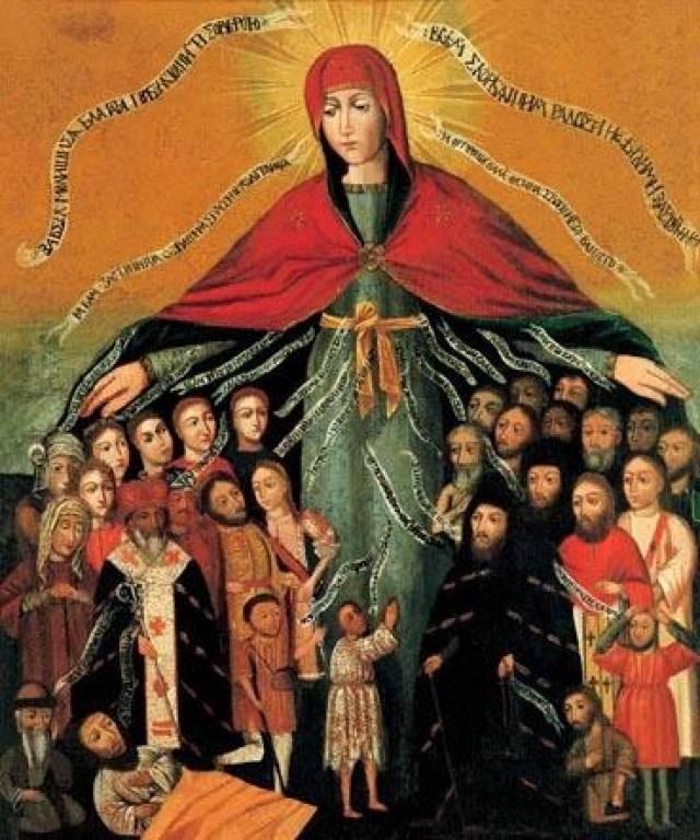 Поверья и приметы на 14 октября 2021 года связаны с Покровом Пресвятой Богородицы
