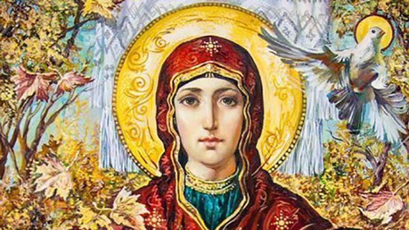 Православные мерцающие гифки-открытки с Покровом Пресвятой Богородицы, 14 октября