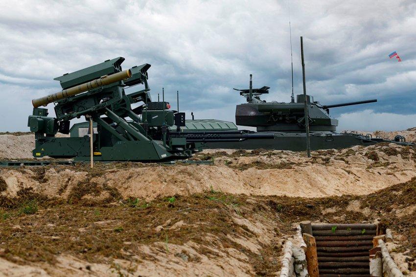 Боевые роботы российской армии